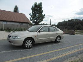 Mazda 626 sprzedam złoty diesel nieuszkodzony 8800 PLN cena do negocjacji ABS 5-drzwiowy Odrzywół