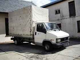 Fiat Ducato sprzedam biały 2-drzwiowy diesel 6000 PLN cena do negocjacji 75 KM Furgon Kietlice