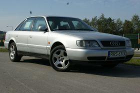 Audi A6 c4 srebrny nieuszkodzony z klimatyzacją sprowadzony z instalacja gazową benzyna + LPG