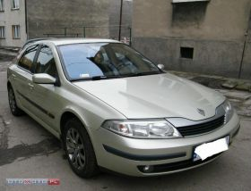 Renault Laguna sprzedam z alufelgami diesel kupiony w polskim salonie z małym przebiegiem Gliwice