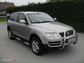Volkswagen Touareg 2.5 TDI Tiptronic Terenowy sprzedam złoty ABS ASR ESP Gorzów Wielkopolski