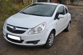 Opel Corsa D sprzedam biały sprowadzony 19400 PLN cena do negocjacji klimatyzacja diesel Koronowo