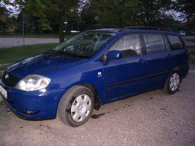 Toyota Corolla 1.4 l sprzedam niebieski kupiony w polskim salonie ABS 14700 PLN benzyna + LPG z gazem Białystok