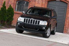 Jeep Grand Cherokee 3.0 l CRD sprzedam czarny kupiony w polskim salonie Skórzana z małym przebiegiem w Łodzi