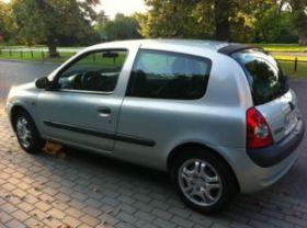 Renault Clio sprzedam srebrny ABS sprowadzony 8200 PLN 2-drzwiowy benzyna z małym przebiegiem Warszawa