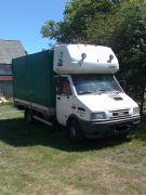 Iveco Daily sprzedam biały 12500 PLN cena do negocjacji 90 KM kupiony w polskim salonie Bus
