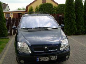 Renault Scenic sprzedam granatowy kupiony w polskim salonie z alufelgami 10800 PLN w Kobyłce