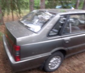 Jeep Wrangler 1989 r sprzedam czarny benzyna z małym przebiegiem 29000 PLN cena do negocjacji