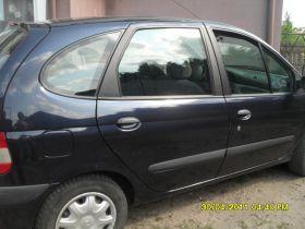 Renault Scenic 1.6 l sprzedam granatowy 10000 PLN cena do negocjacji benzyna sprowadzony ABS Psary