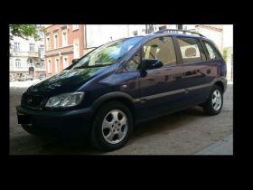 Opel Zafira Van sprzedam niebieski 15900 PLN cena do negocjacji z kompletem dokumentów z alufelgami