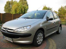 Peugeot 206 1.4 l sprzedam srebrny pierwszy właściciel Welurowa 13900 PLN cena do negocjacji benzyna