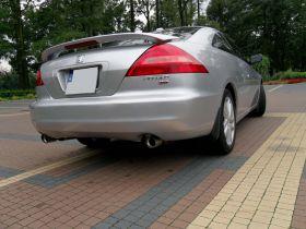 Honda Accord 3.0 l 3.0 EX-V6 sprzedam srebrny z małym przebiegiem ABS ASR EDS ESP nieuszkodzony 33000 PLN