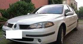 Renault Laguna sprzedam biały z instalacja gazową benzyna + LPG ABS ESP z alarmem w Piekarach Śląskich