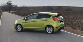 Ford Fiesta 2010 r sprzedam zielony nieuszkodzony sprowadzony 49999 PLN cena do negocjacji Kraków