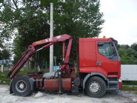 Renault Premium Ciągnik siodłowy sprzedam czerwony 385 KM 39000 PLN nieuszkodzony 1998 r Busko-Zdrój