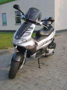 Skuter Gilera NORDWEST 2005 r z szybą motocyklową 21 KM 4000 PLN cena do negocjacji Ubieszyn