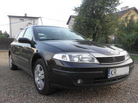 Renault Laguna II sprzedam czarny nieuszkodzony Welurowa ABS 12500 PLN benzyna klimatyzacja Kraków