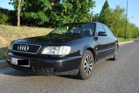 Audi A6 sprzedam czarny z instalacja gazową benzyna + LPG z klimą 9500 PLN cena do negocjacji ABS Lublin