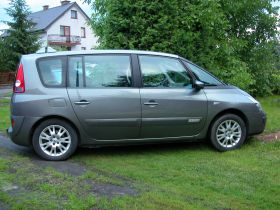 Renault Espace 2005 r Van sprzedam szary z klimatyzacją nieuszkodzony 15500 PLN diesel ABS ESP Zamość
