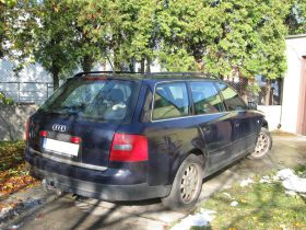 Audi A6 2.8 l sprzedam sprowadzony 10500 PLN cena do negocjacji z małym przebiegiem Kędzierzyn-Koźle
