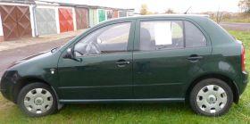 Skoda Fabia silnik vw.polo Hatchback zielony 11700 PLN cena do negocjacji 40 KM Świebodzice