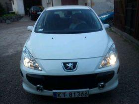 Peugeot 307 Hatchback sprzedam biały z małym przebiegiem klimatyzacja 21500 PLN komplet dokumentów w Tarnowie