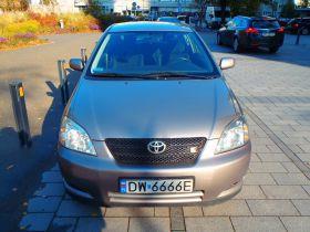 Toyota Corolla T-SPORT Hatchback sprzedam grafitowy benzyna 20900 PLN cena do negocjacji ABS ASR ESP w Warszawie