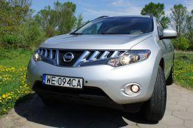 Nissan Murano SUV sprzedam srebrny z małym przebiegiem benzyna 72400 PLN alarm przyciemniane szyby Warszawa