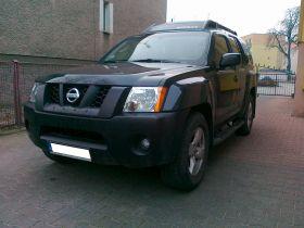 Nissan Xterra sprzedam czarny z homologacją na ciężarowy benzyna z małym przebiegiem 41000 PLN