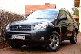 Toyota Rav 4 Prestige 2.2 l sprzedam grafitowy ABS EDS ESP z przyciemnanymi szybami w Poznaniu