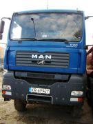 MAN TGA 41.430 Wywrotka sprzedam niebieski pierwszy właściciel 195000 PLN 2006 r nieuszkodzony Kraków
