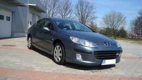 Peugeot 407 1.6 l sprzedam szary 110 KM nieuszkodzony ESP diesel z małym przebiegiem 25500 PLN Kuźnica
