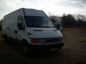 Iveco Daily 35s13 max sprzedam biały nieuszkodzony kupiony w polskim salonie 16000 PLN Bus Turek