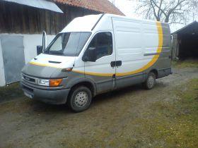 Iveco Daily sprzedam biały nieuszkodzony 78 KM 10000 PLN ABS ASR ESP diesel Bus Ełdyty Wielkie