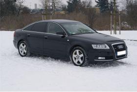 Audi A6 quattro 3.0 l sprzedam czarny ABS ESP z alarmem 5-drzwiowy z małym przebiegiem Poznań