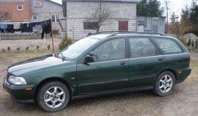 Volvo V40 1997 r sprzedam zielony 4500 PLN cena do negocjacji benzyna z alufelgami z autoalermem Manasterz