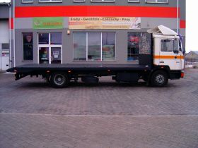 MAN M 90 6.0 l sprzedam biały 26900 PLN diesel sprowadzony 1992 r nieuszkodzony Siedlce