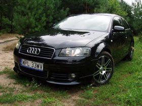 Audi A3 2.0 l TDi sprzedam granatowy 13700 PLN cena do negocjacji nieuszkodzony diesel Lublino
