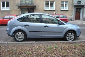 Ford Focus 1.6 l sprzedam niebieski 5-drzwiowy Welurowa diesel 17000 PLN cena do negocjacji Wrocław