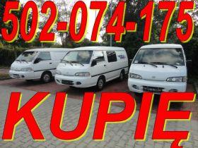Hyundai H100 sprzedam uszkodzony 444444 PLN cena do negocjacji diesel Bus w Lublinie