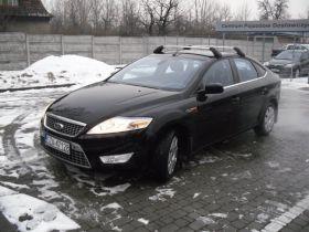 Ford Mondeo 2.0 l sprzedam czarny z małym przebiegiem pierwszy właściciel z alufelgami Lgotka