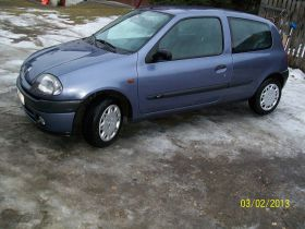 Renault Clio ii Hatchback sprzedam benzyna nieuszkodzony 6100 PLN cena do negocjacji Niewodna