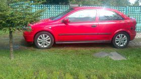 Opel Astra sprzedam nieuszkodzony 101 KM benzyna + LPG 5500 PLN cena do negocjacji w Radomiu