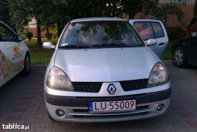Renault Clio clio sprzedam nieuszkodzony benzyna 5500 PLN cena do negocjacji z małym przebiegiem Lublin