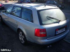 Audi A6 Kombi sprzedam srebrny 131 KM nieuszkodzony 5-drzwiowy 18000 PLN z alufelgami diesel w Chorzowie