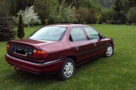 Ford Mondeo Sedan sprzedam pomarańcz benzyna z małym przebiegiem nieuszkodzony 2700 PLN w Bardzie