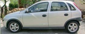 Opel Corsa c 1.7 l srebrny diesel 10500 PLN cena do negocjacji ABS z klimatyzacją w Olsztynie