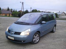Renault Espace 2004 r sprzedam niebieski 16400 PLN cena do negocjacji z klimatyzacją w Rzeszowie