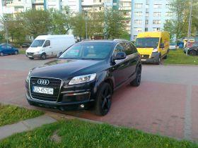 Audi Q7 s-line 3.0 l sprzedam czarny z małym przebiegiem z autoalermem 112000 PLN w Gdańsku