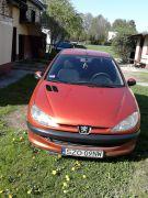 Peugeot 206 sprzedam 7000 PLN cena do negocjacji z małym przebiegiem + komplet opon Świerklany